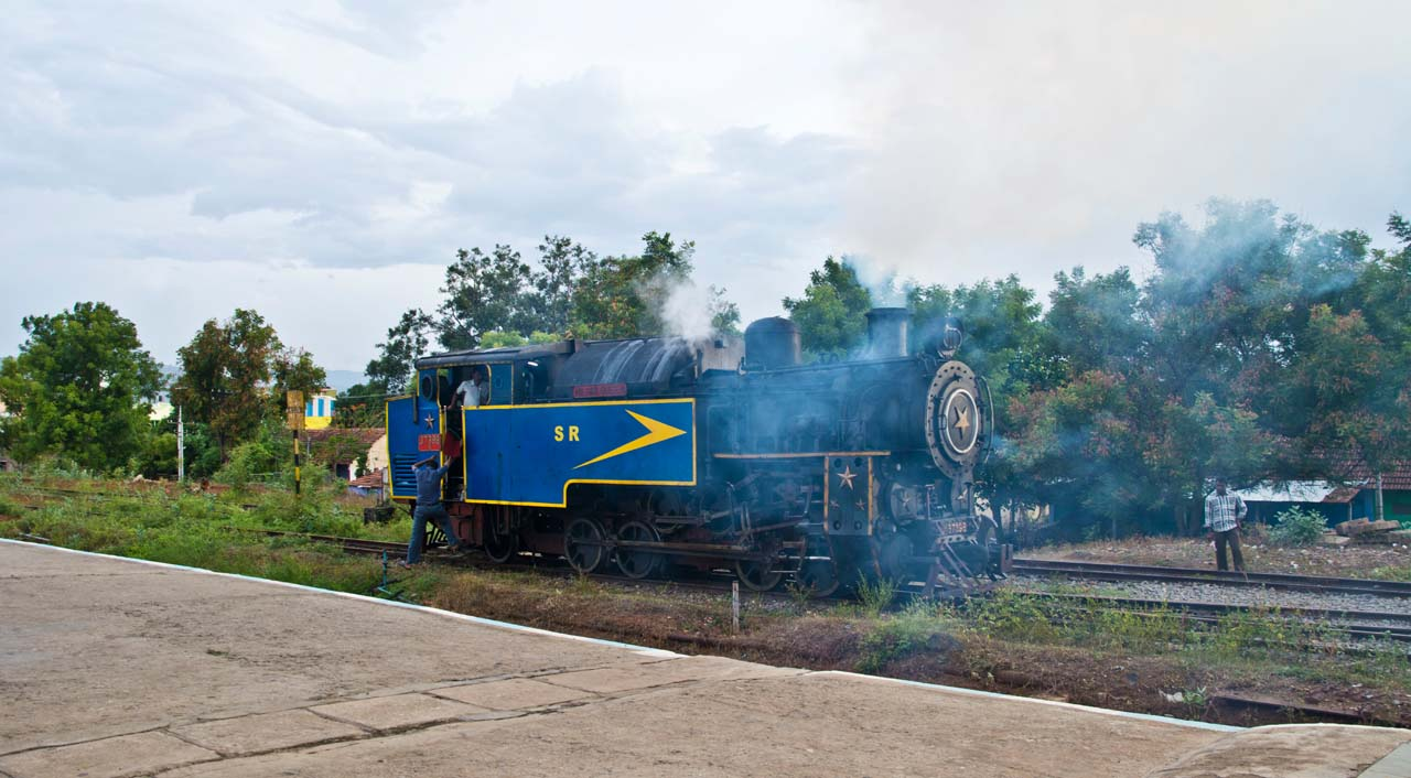 Nilgiri mountain railway engine