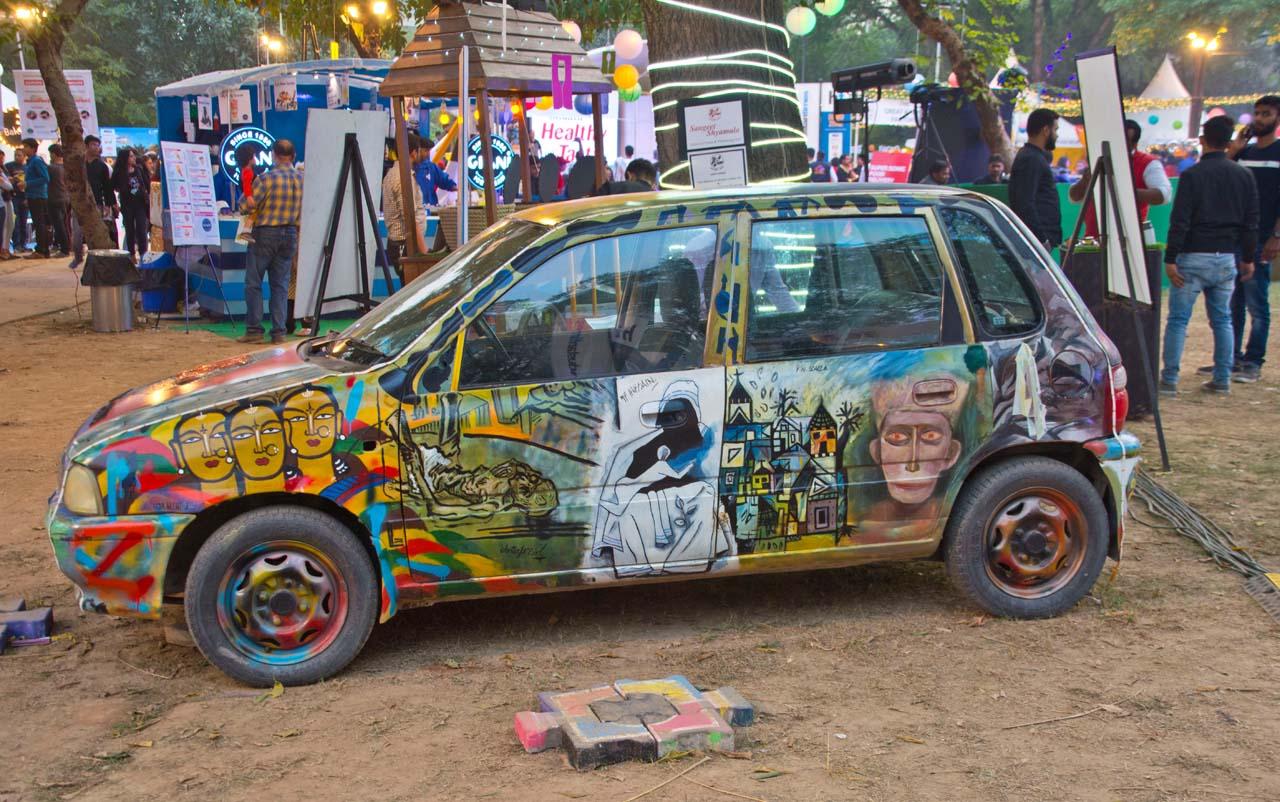 Palate fest car
