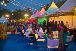 Palate fest sitting area