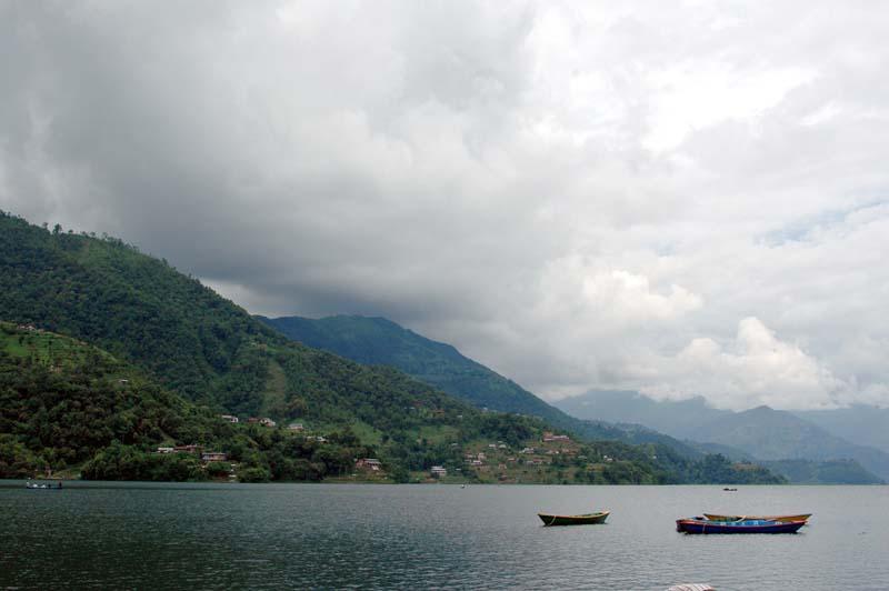 Phewa Lake Pokhara Nepal