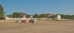 Resort at Ghogla beach diu