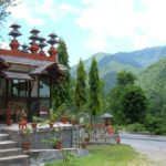 Resort for Lunch on the way to Pokhara Nepal