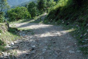 Trek to peace pagoda trek Pokhara Nepal