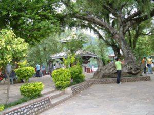 Varahi temple area in Phewa Lake Pokara
