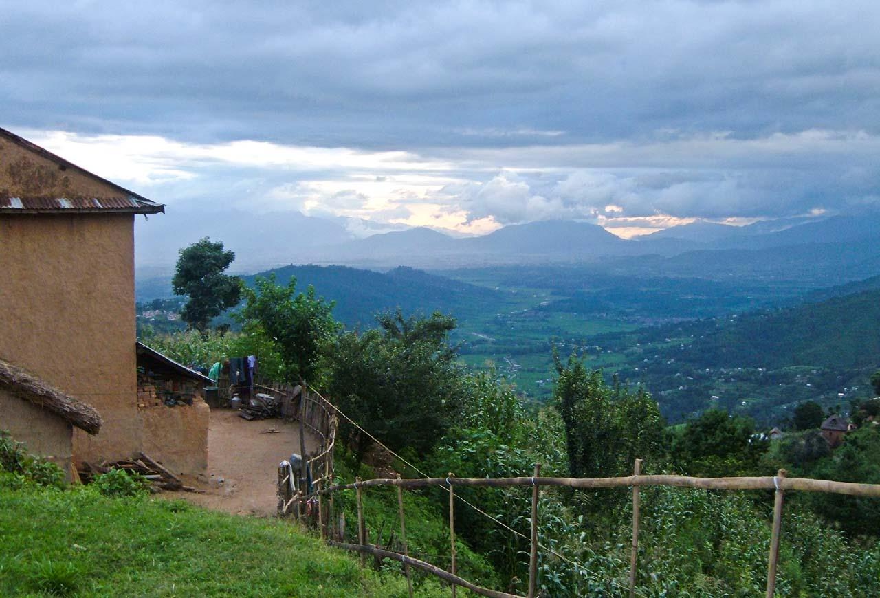 Nagarkot Nepal village