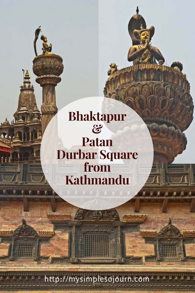 Bhaktapur and Patan Durbar Square from Kathmandu
