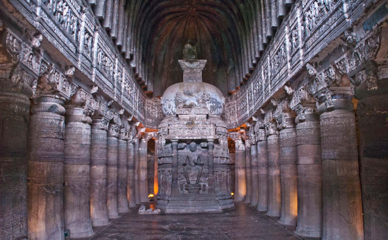 Pictures from India - Ajanta Caves