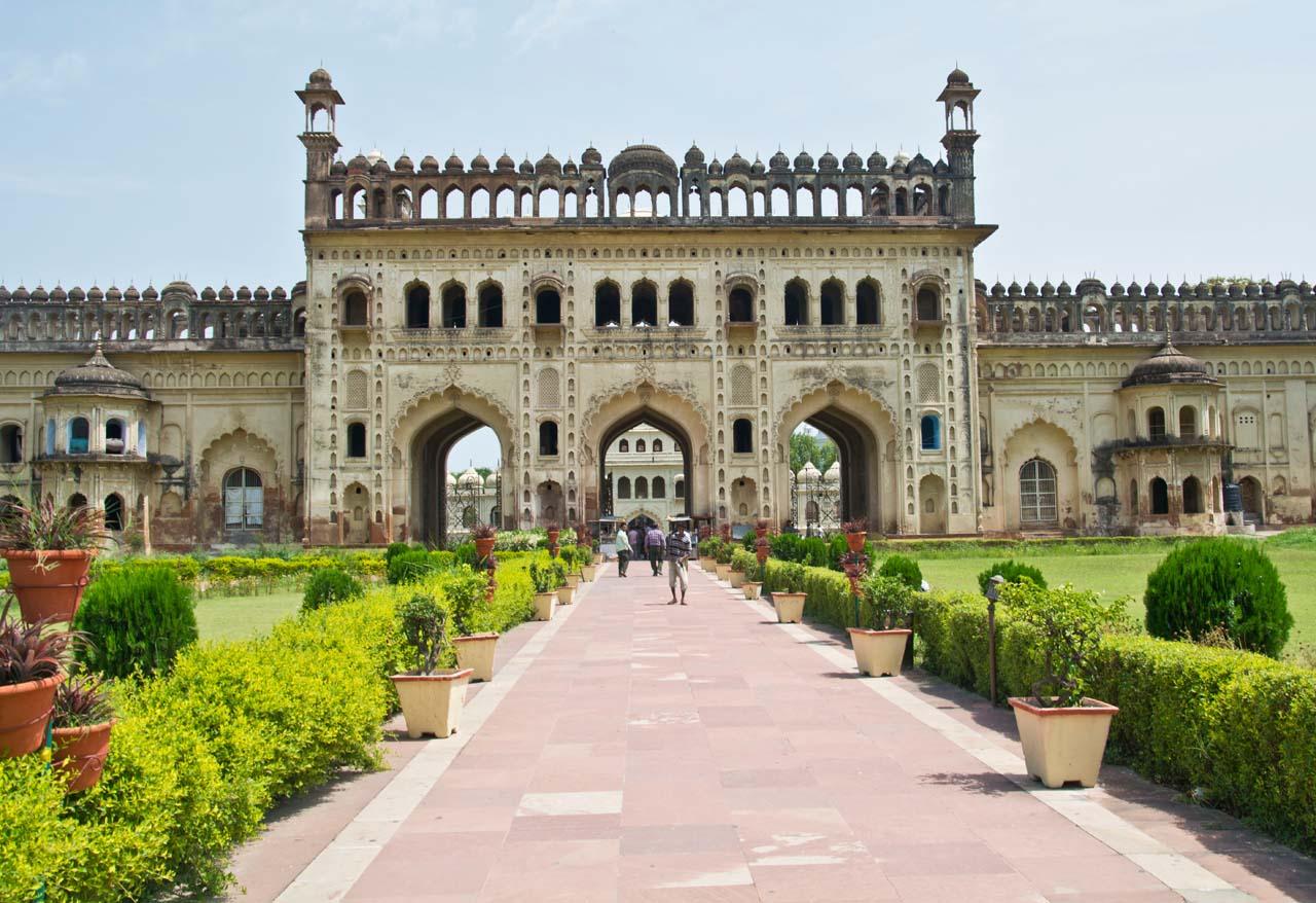 Bara Imambara Lucknow outer gate
