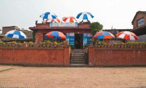 Bhaktapur Durbar Square cafe