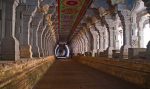 Corridors of Ramanathaswamy temple