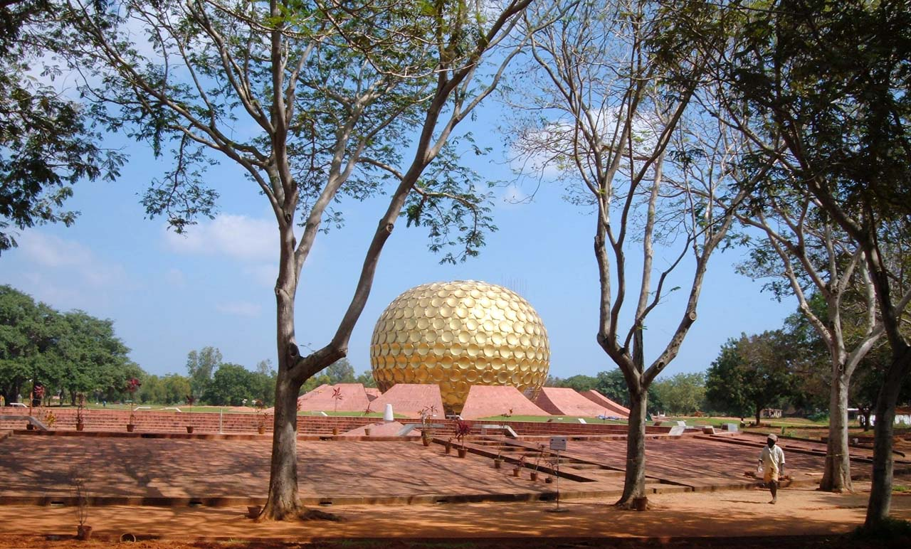 Pictures from India - Matrimandir Pondicherry