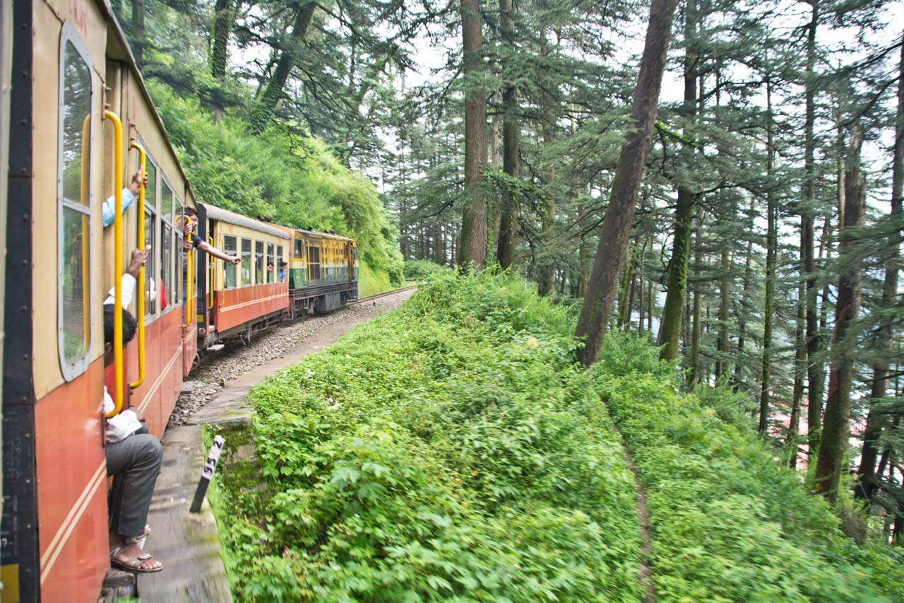 Pictures from India - Kalka Shimla Mountain Railways