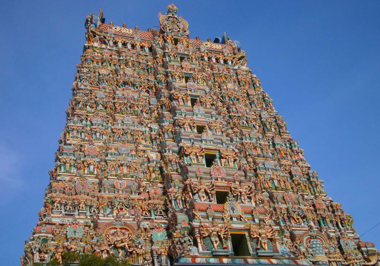 Pictures from India - Madurai Meenakshi Temple