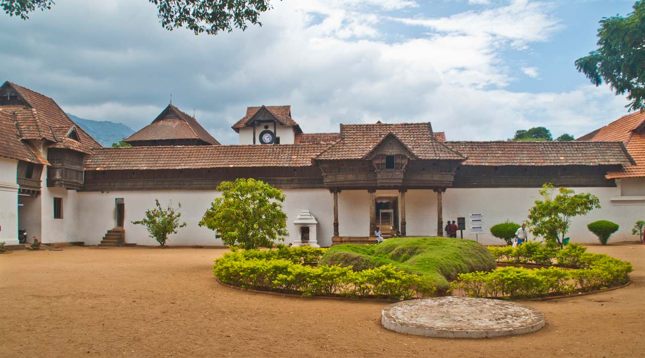 Padmanabhapuram Palace compound area