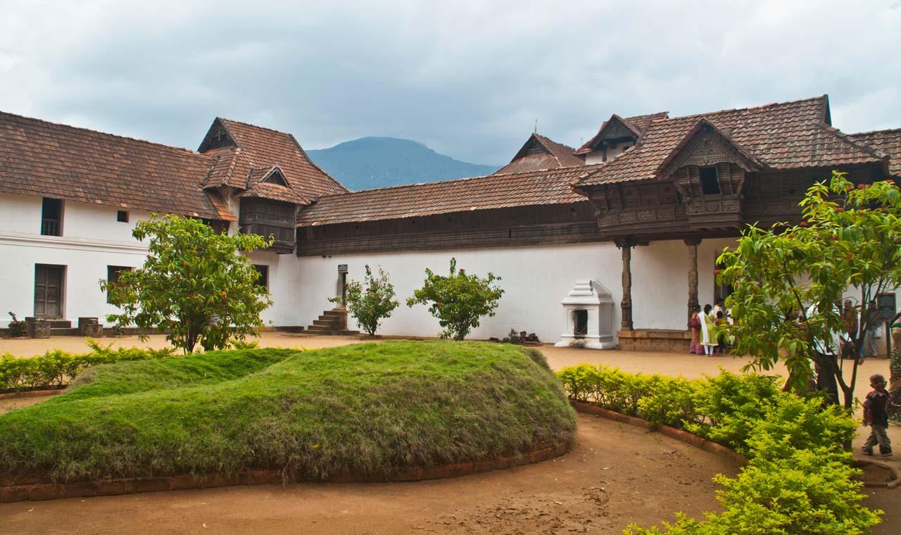Padmanabhapuram Palace museum compound