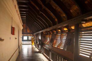 Padmanabhapuram Palace corridor