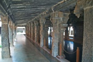 Padmanabhapuram Palace stone pillars of King's Council Hall