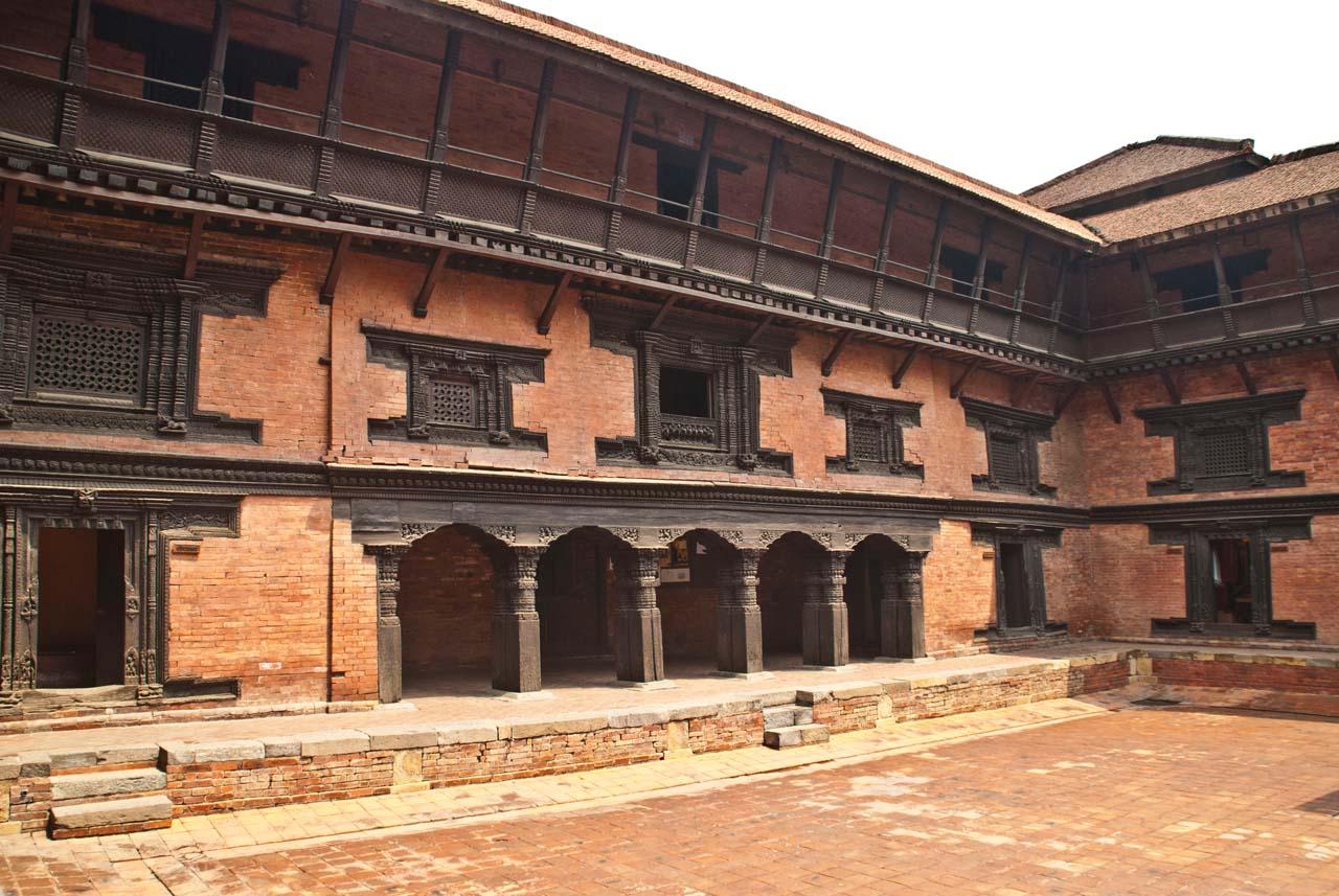 Patan Durbar Square area