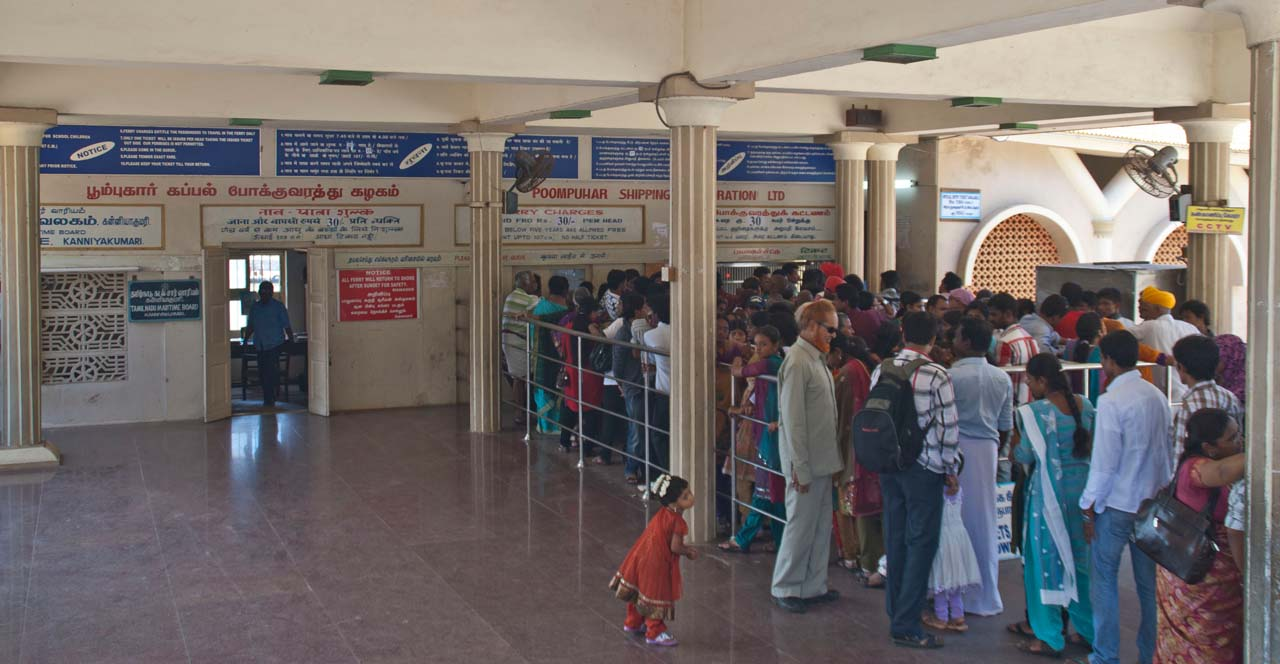 Poompuhar shipping ticket window Kanyakumari