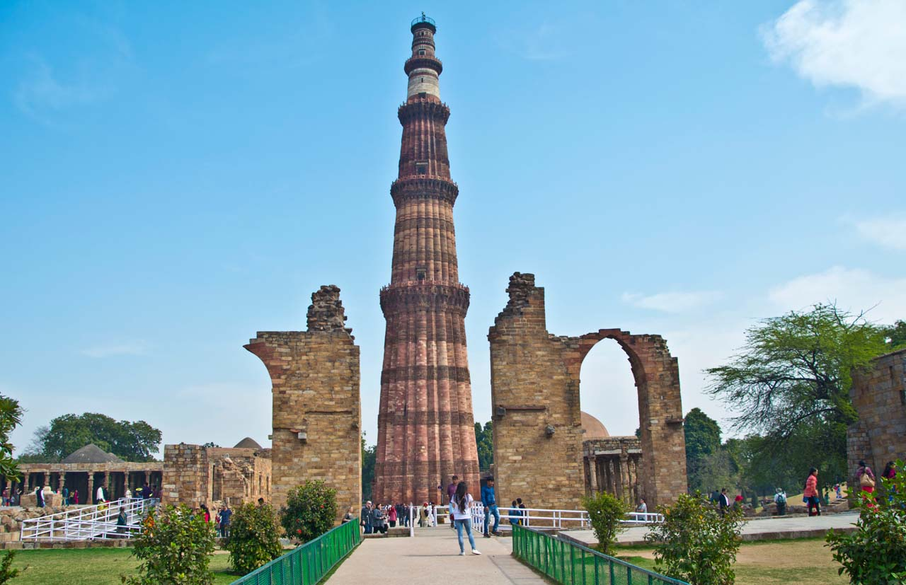 Pictures from India - Qutab Minar Delhi