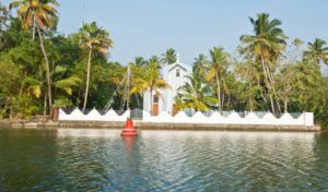 Church in the Kerala Backwaters