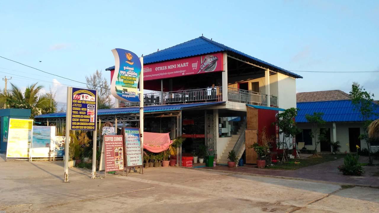 Otres Village store Sihanoukville Cambodia