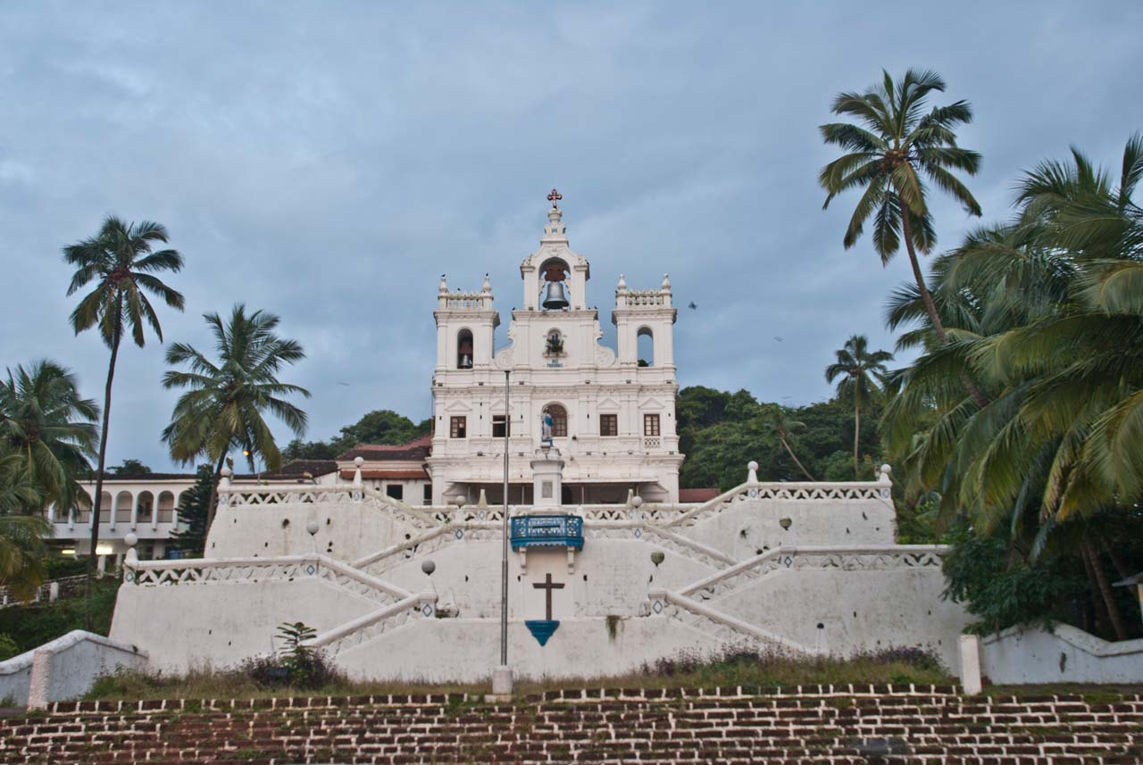 the Our Lady of Immaculate Conception church in Panaji Goa