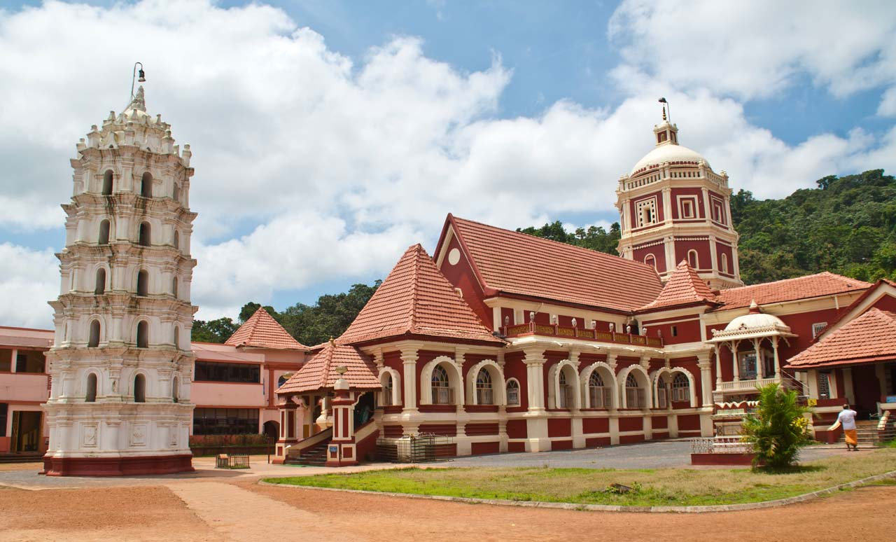 Shanta Durga temple Goa overview