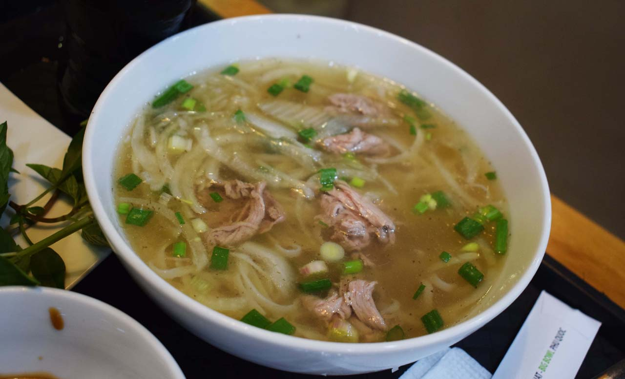 The broth of the Pho