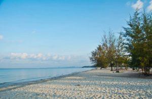 Towards Otres 2 beach Sihanoukville Cambodia