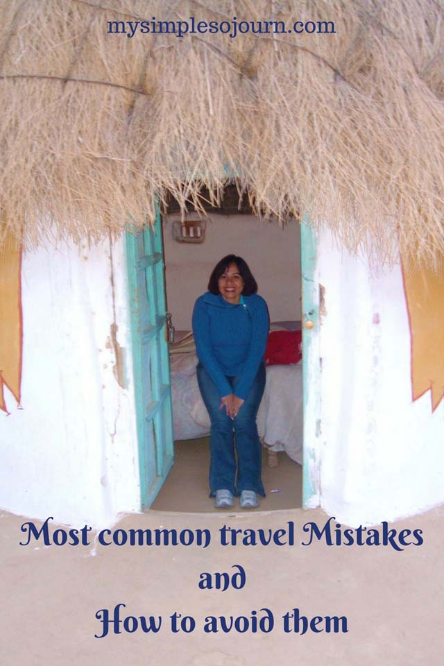 Most common travel Mistakes and How to avoid them