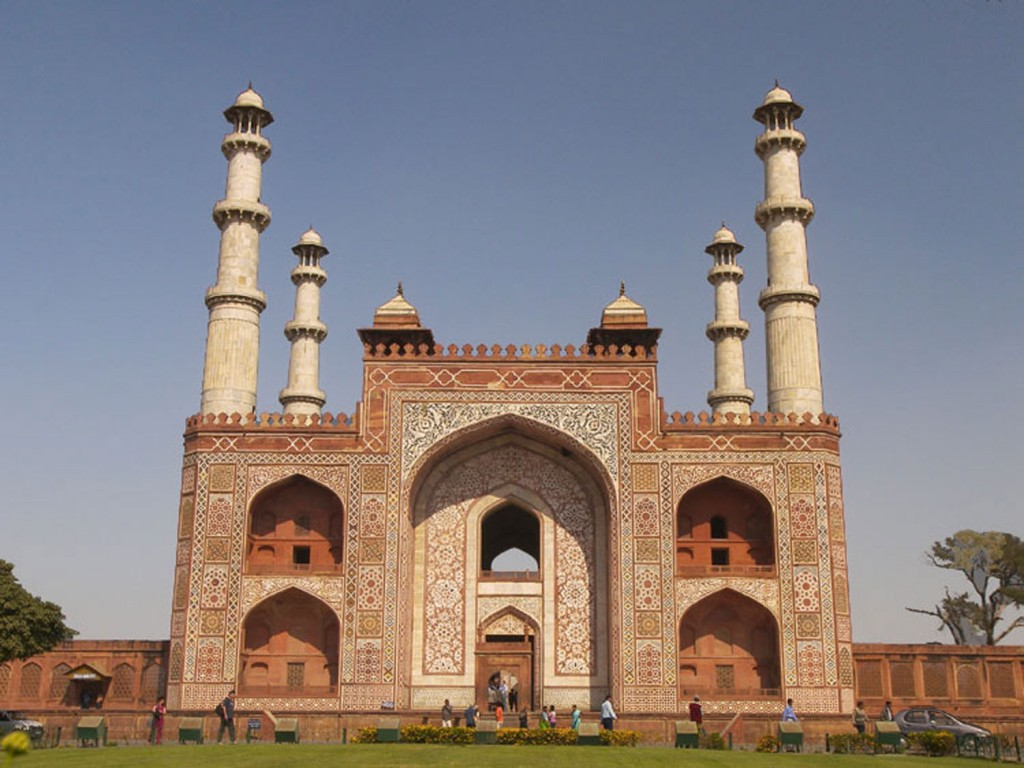 Akbar's tomb Agra