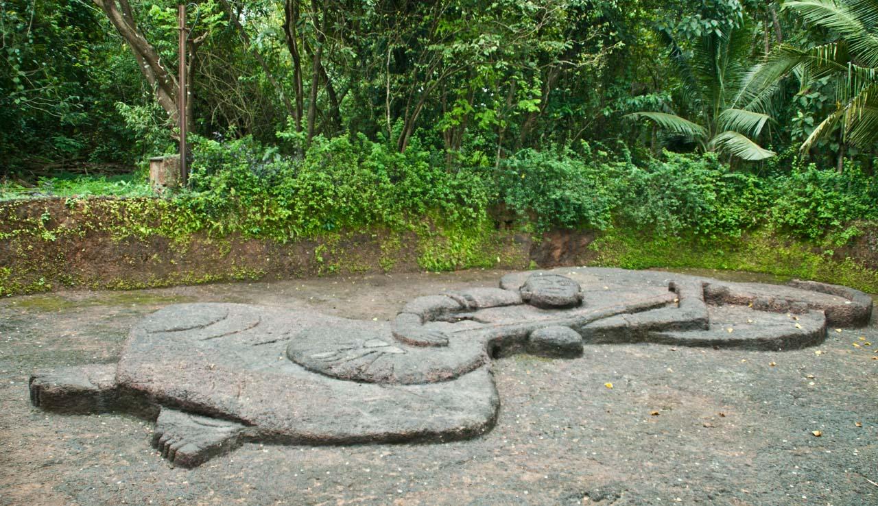 Bigfoot Goa sculpture of Saint Mirabai