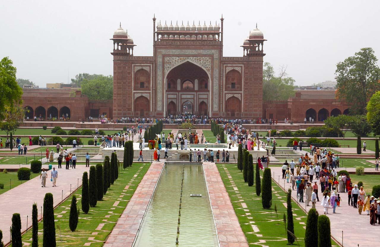 Gate of Taj Mahal Agra