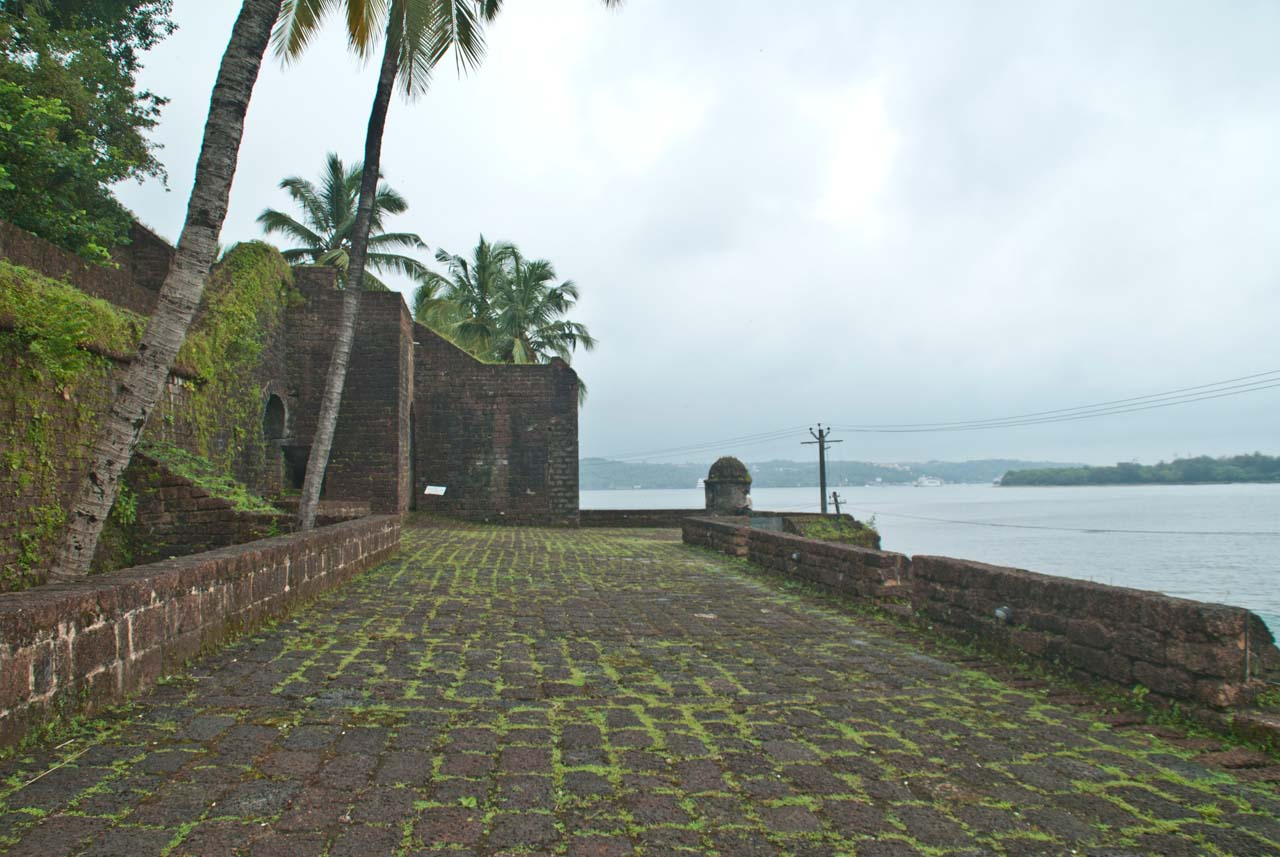 Reis Magos Fort Goa outer area