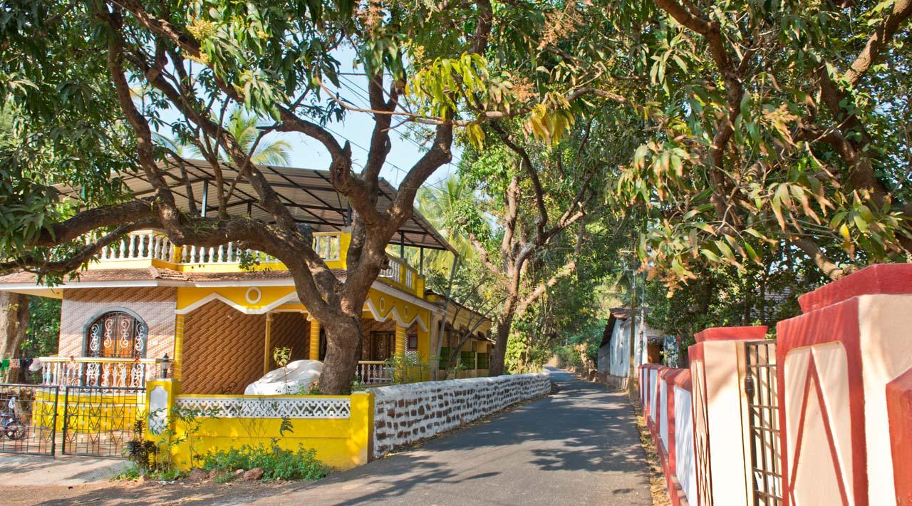 Rural Goa House