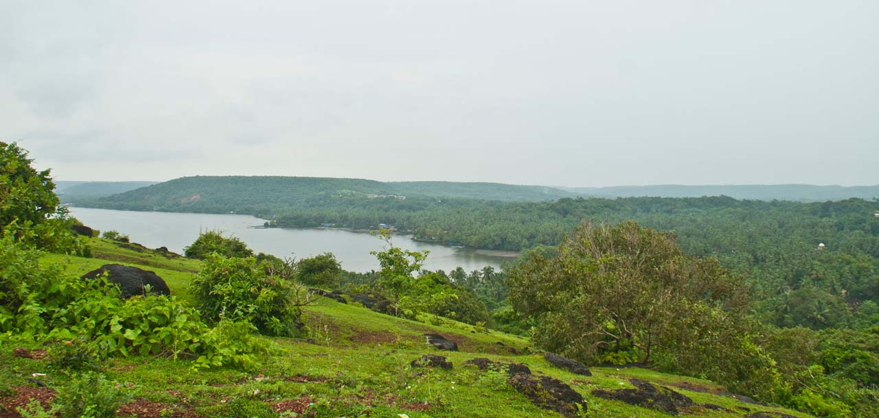 View from Goa fort