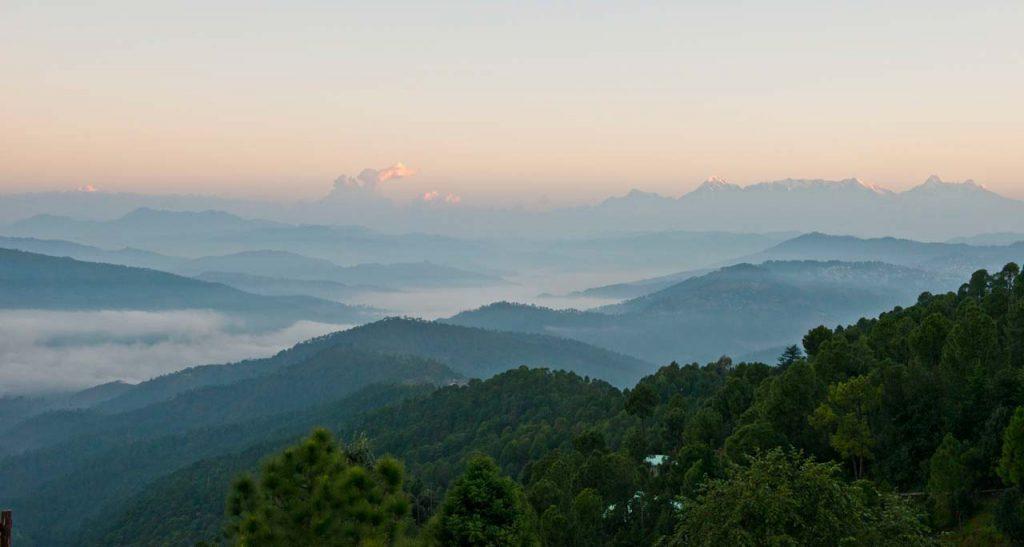 Mountains at Satkhol Himalayan Ashram