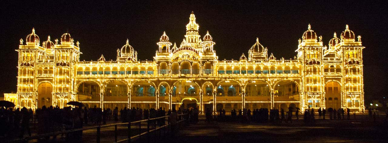 Mysore Palace Illuminated