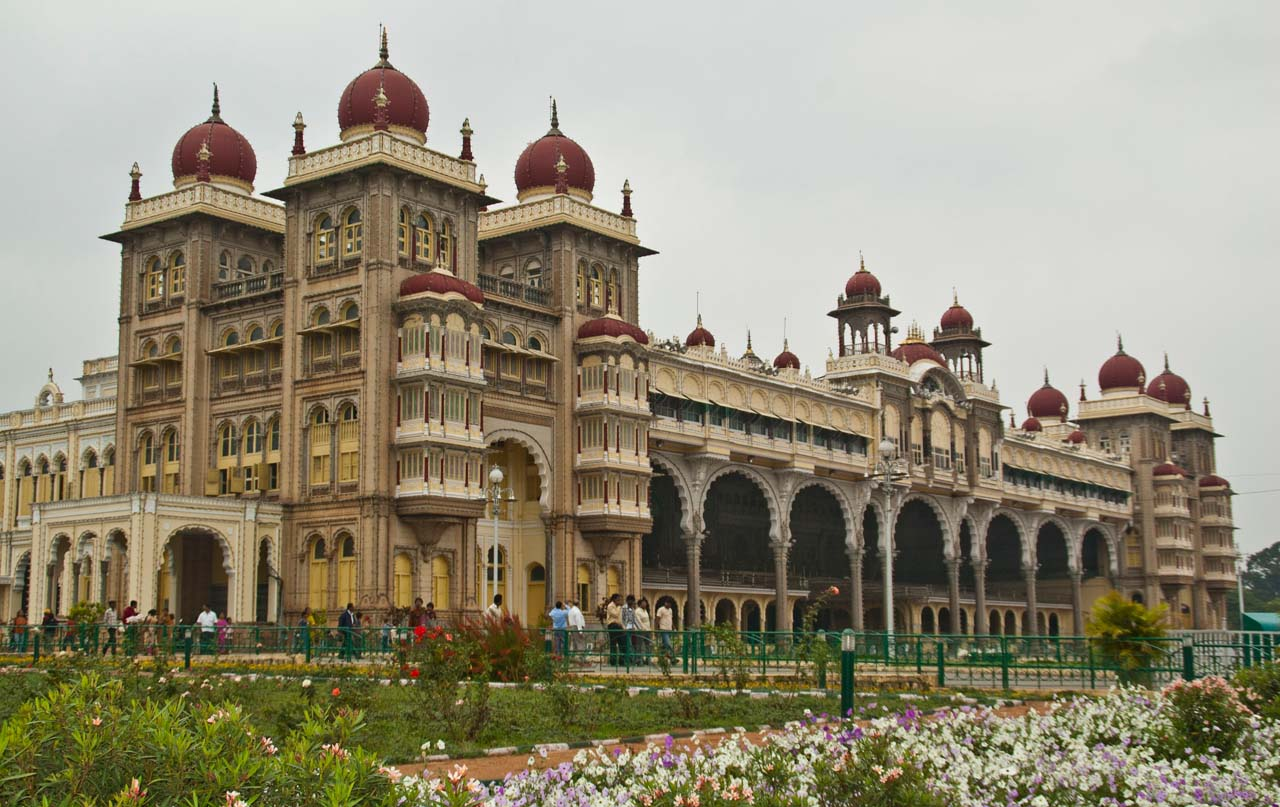 Mysore Palace during the day