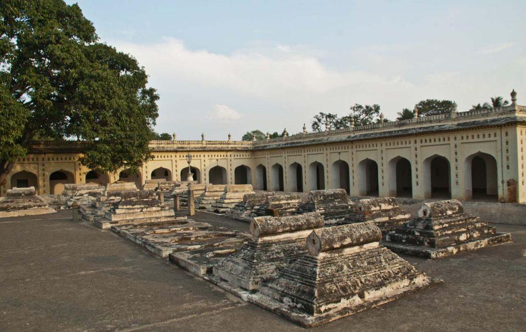Tipu sultan's family's graves Srirangapatna