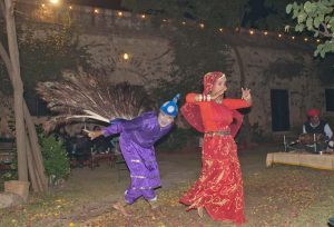 Dancers in Hill Fort Kesroli