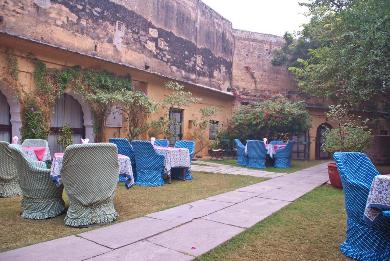 Dinning area in Hill Fort Kesroli