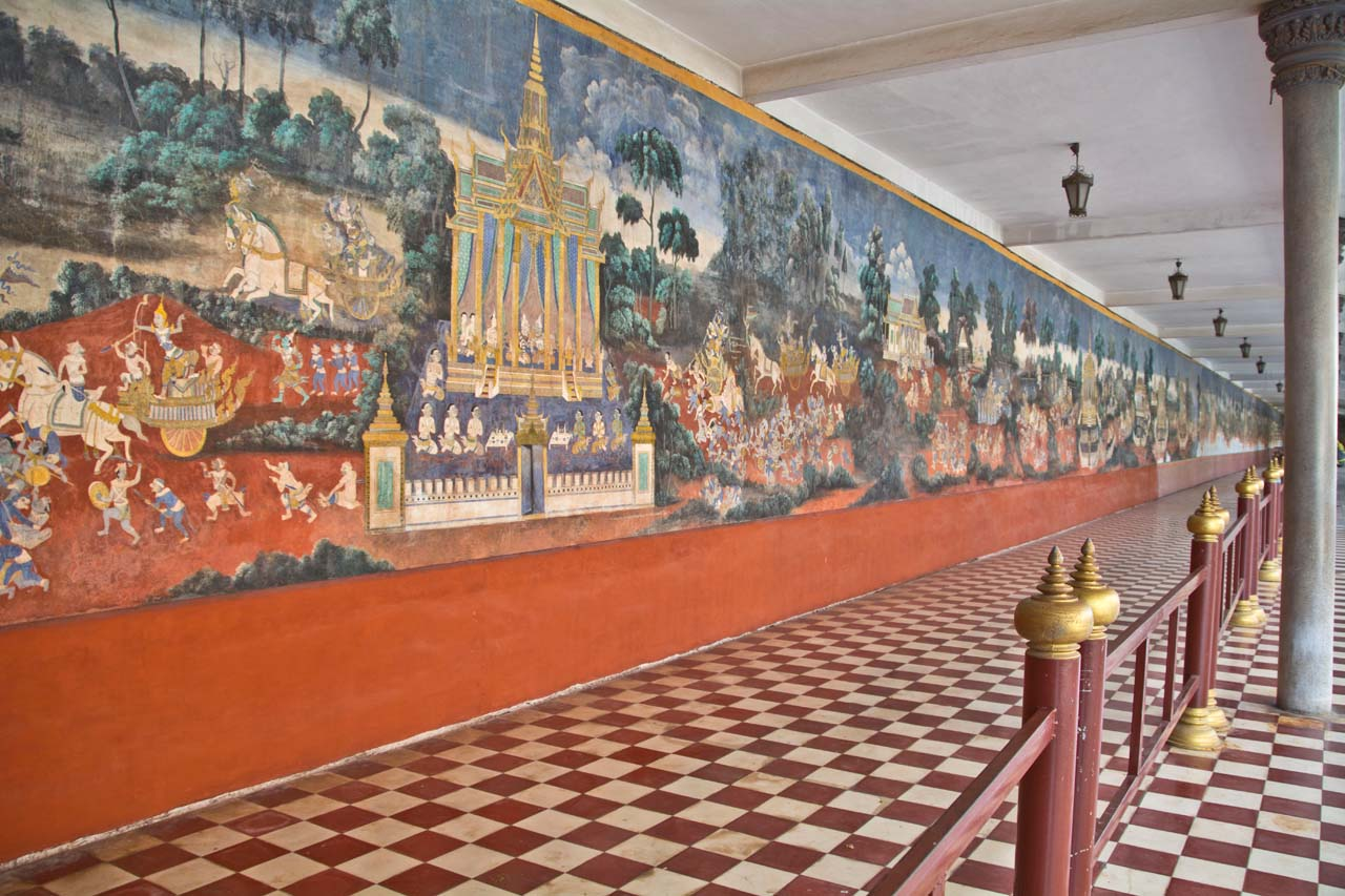 Paintings in Silver Pagoda