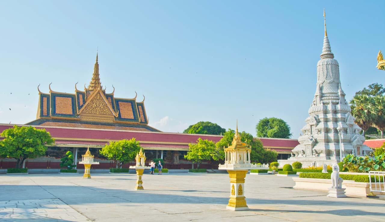 Silver Pagoda compound Phnom Penh
