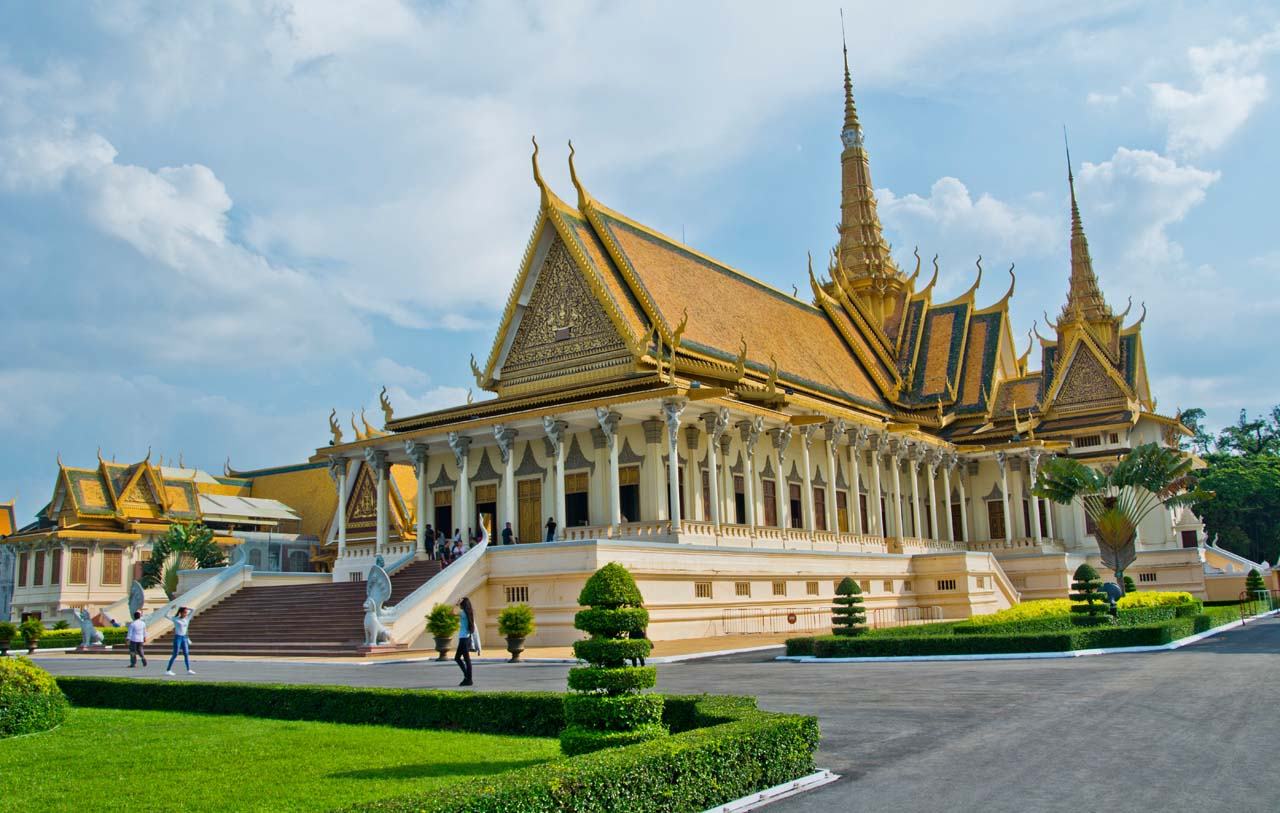 Throne Hall Royal Palace Phnom Penh Cambodia