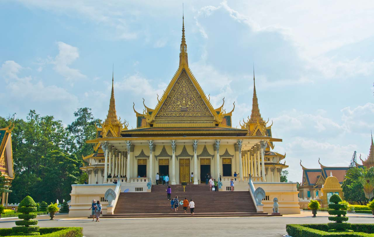 Throne Hall Royal Palace Phnom Penh