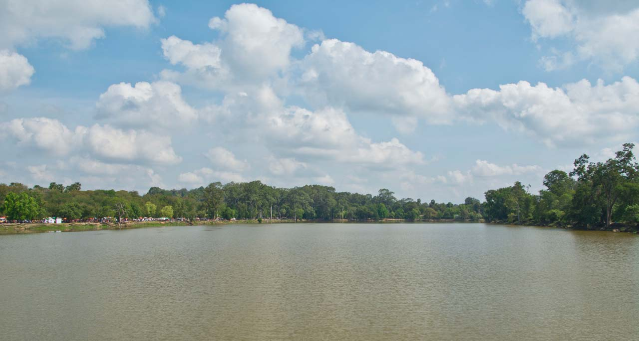 Angkor water reservoir