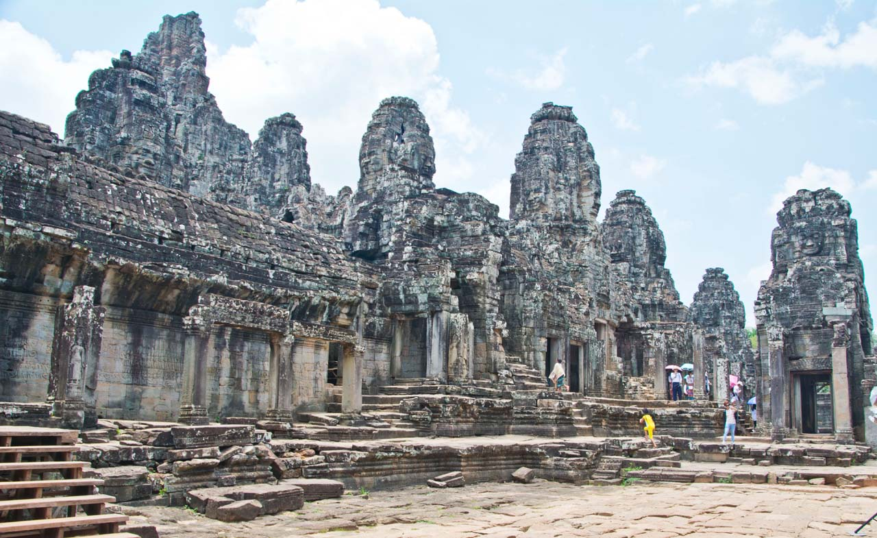 Bayon temple, Angkor in Siem Reap
