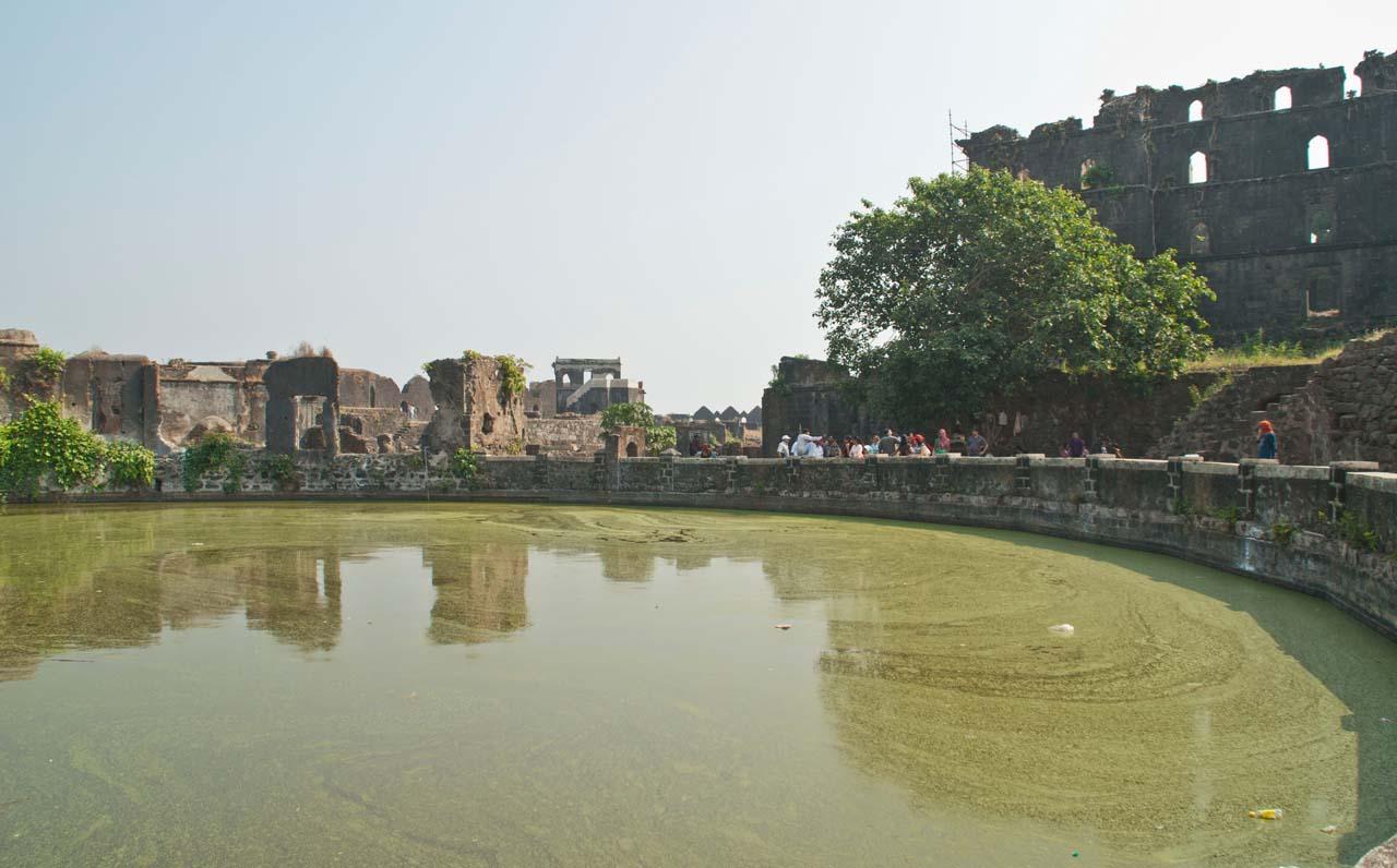 Fresh Water in Murud Janjira Fort